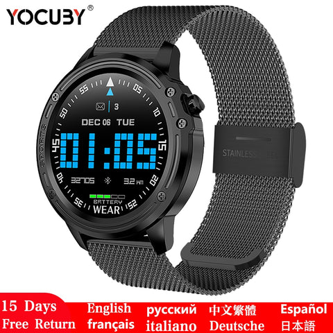 Smart Watch Men smart electronics wearable devices