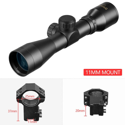 Hunting Optics 4x32 Airsoft Optical Rifle Scope Sight
