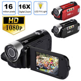 2.7 Inch TFT LCD HD 1080P 16MP 16X Digital Zoom Camcorder Video DV Camera