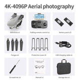 E59 RC Drone 4K HD Camera Professional Aerial Photography Helicopter