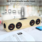 Home theater portable column Bluetooth Speaker Wireless wood speaker