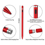 Universal Capacitive Stylus Touch Screen Pen Palm Rejection Smart Pen for Apple iPad