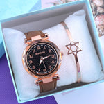 Casual Women Watches Starry Sky Quartz Wristwatch
