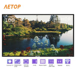 Free shipping-Hot sale explosion-proof flat screen tv 100 inch ultra hd led android television