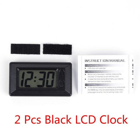 Digital Car Electronic Clock Electronic Watch LCD Display Digital