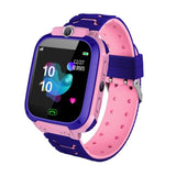 Kids Smart Watch Phone For Girls Boys With Gps Locator Pedometer