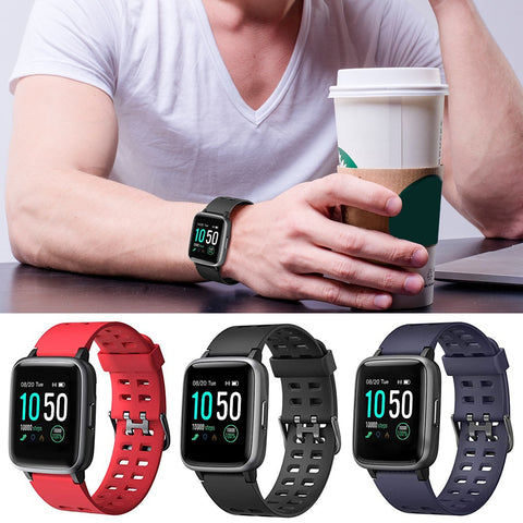 Waterproof Bluetooth Sports Smart Watch Wearable Tracker Heart Rate
