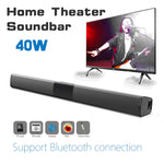Wireless Bluetooth Speaker 40W Soundbar with Subwoofer