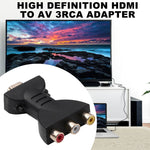 High quality HDMI To 3 RCA AV Digital Signal Audio Adapter