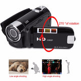 1080P Video Record DVR Timed Selfie Anti-shake High Definition Camcorder