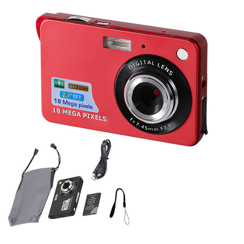 SPASH Kids Camera Mini Digital camera 2.7 inch