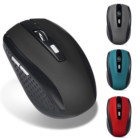 2.4GHz Wireless Gaming Mouse USB Receiver Pro Gamer Portable Ergonomic Computer Silent PC Desktop Laptop Accessories