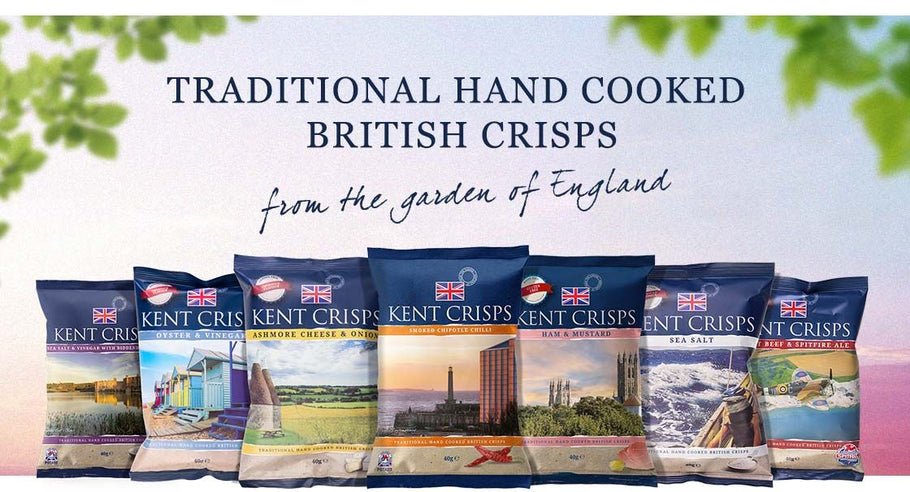 Kent Crisps - Hand cooked crisps from the Garden of England