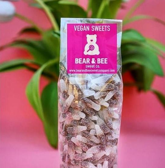 Vegan Cola Fizzy Sweets