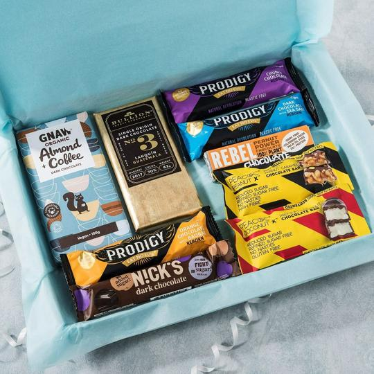 Dark Chocolate Letterbox Gift Collection