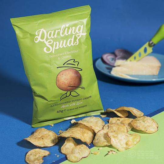 Somerset Cheddar & Onion Crisps