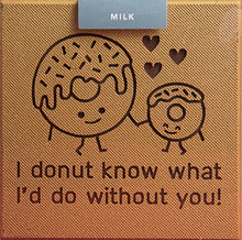 Load image into Gallery viewer, Belgian Milk Chocolate Donut Card