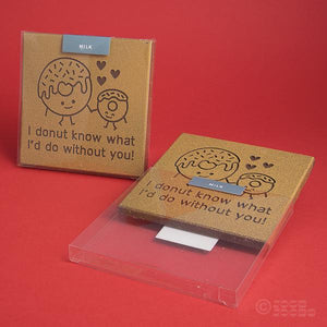 Belgian Milk Chocolate Donut Card