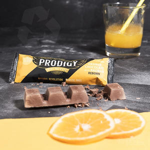 Chunky Orange Chocolate Bar