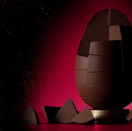 Solid Belgian Dark Chocolate Egg