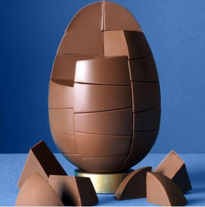 Solid Belgian Milk Chocolate Egg