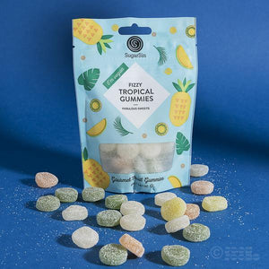 Vegan Fizzy Tropical Sweets