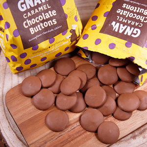 Caramel Chocolate Buttons