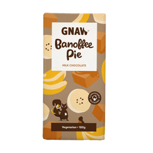 Load image into Gallery viewer, Banoffee Pie Milk Chocolate Bar
