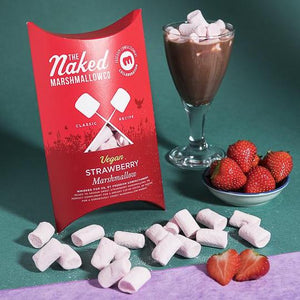 Vegan Strawberry Gourmet Marshmallows