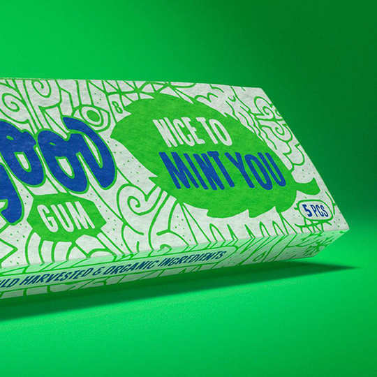 Real Good Gum Nice To Mint You natural healthy chewing gum