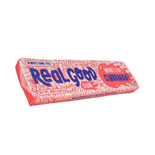 Real Good Gum Cinnaman natural healthy chewing gum