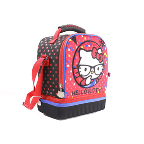 Lonchera Hello Kitty 80769 Marca Ruz de Poliéster Color Negro