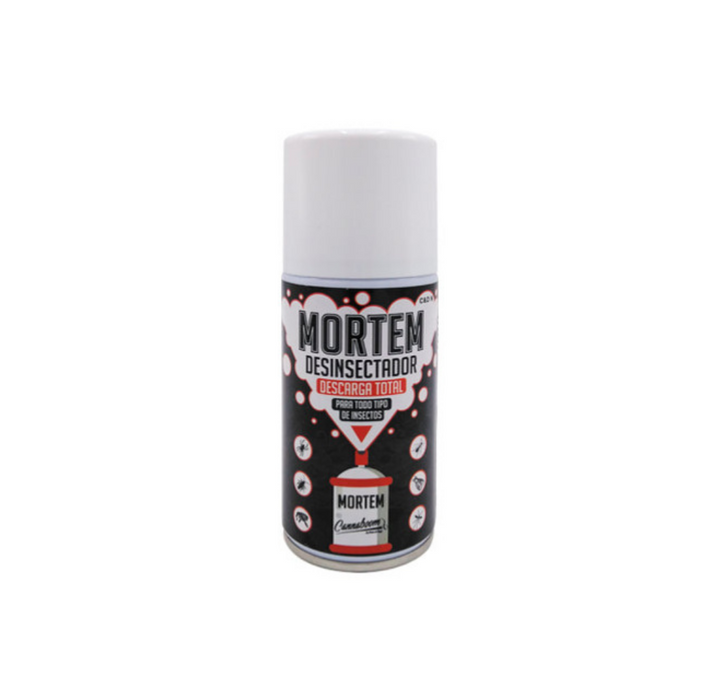 Mortem 150ml. Insecticida descarga total Cannaboom
