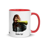 Mug with Wake Up Punch
