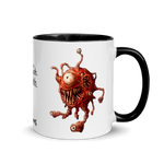 "Mug with Gas Spore - ""Oooooh. Ahhhhh."""
