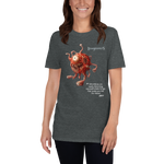 "T-shirt with Gas Spore - ""Adventures are nasty ..."""