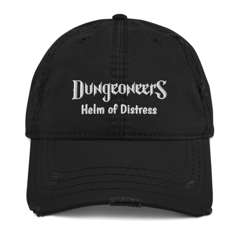 "Distressed Cap - ""Helm of Distress"""