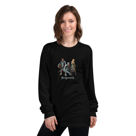 Long Sleeved Shirt with Heroes