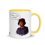 "Mug with Villagers - ""Come hither ..."""