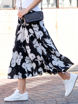 KOCHHAR SKIRT IN BLACK