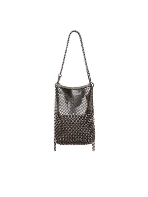 Disco Bag In Shiny Silver/Gold