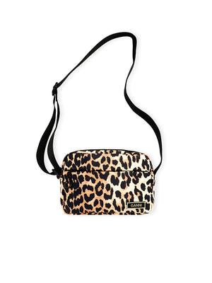 Recycled Tech Festival Bag in Leopard