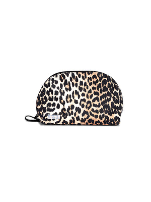 Recycled Tech Vanity Bag in Leopard