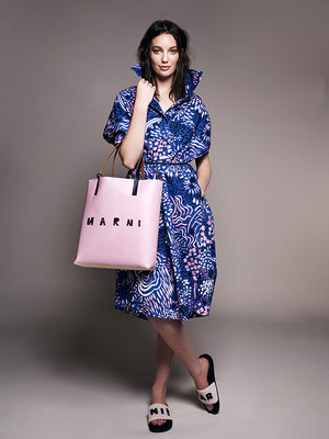 Marni Painted Print Shift Dress