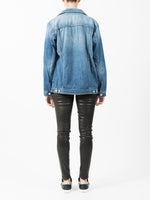 CYRA OVERSIZED DENIM JACKET