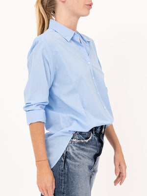 Xirena Beau Shirt in Cruise Blue