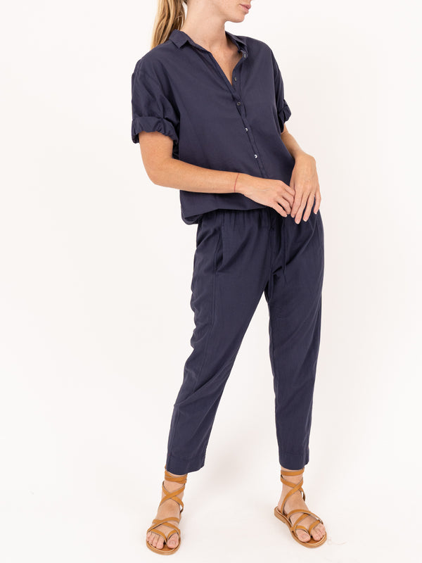 Draper Pant in True Navy