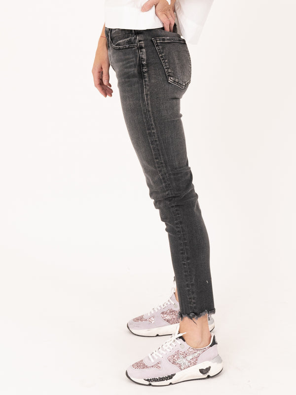 Moussy Vintage MV Westcliffe Skinny Hi in Light Black