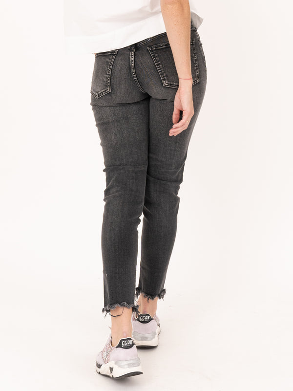 MV Westcliffe Skinny Hi in Light Black