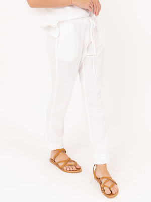 Xirena Jordyn Pant in White Wash